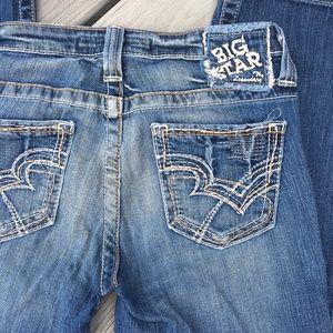 "Big Star ""Rikki"" Low Rise Capri jeans Size 27"